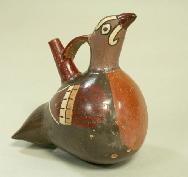 Bridge and Spout Bottle in Bird Form