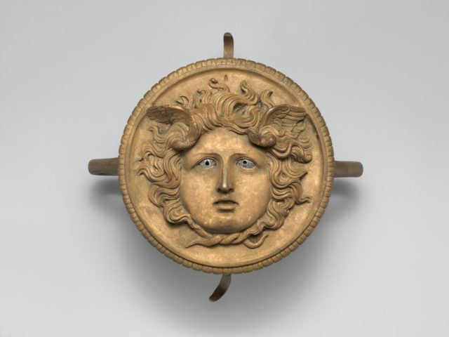 Bronze ornament from a chariot pole