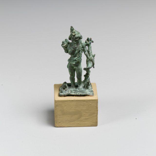 Bronze statuette of Harpokrates