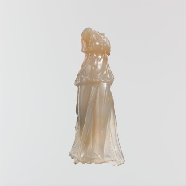 Chalcedony statuette of Nike (Victory)