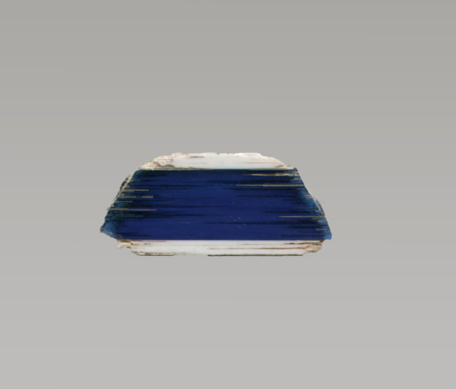 Glass inlay fragment