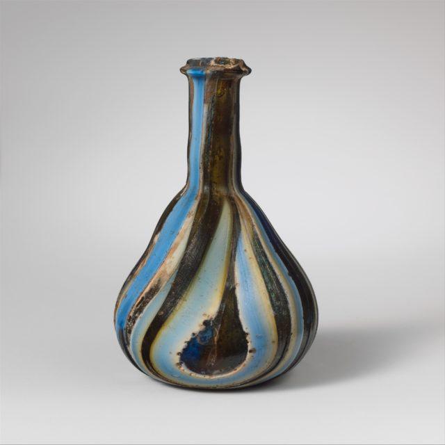 Glass mosaic bottle