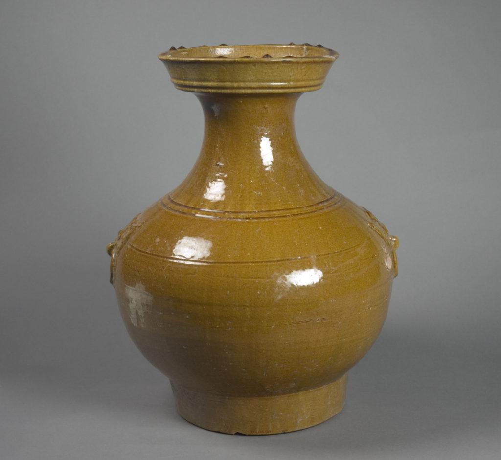 Jar in Shape of Archaic Bronze Vessel (Hu)