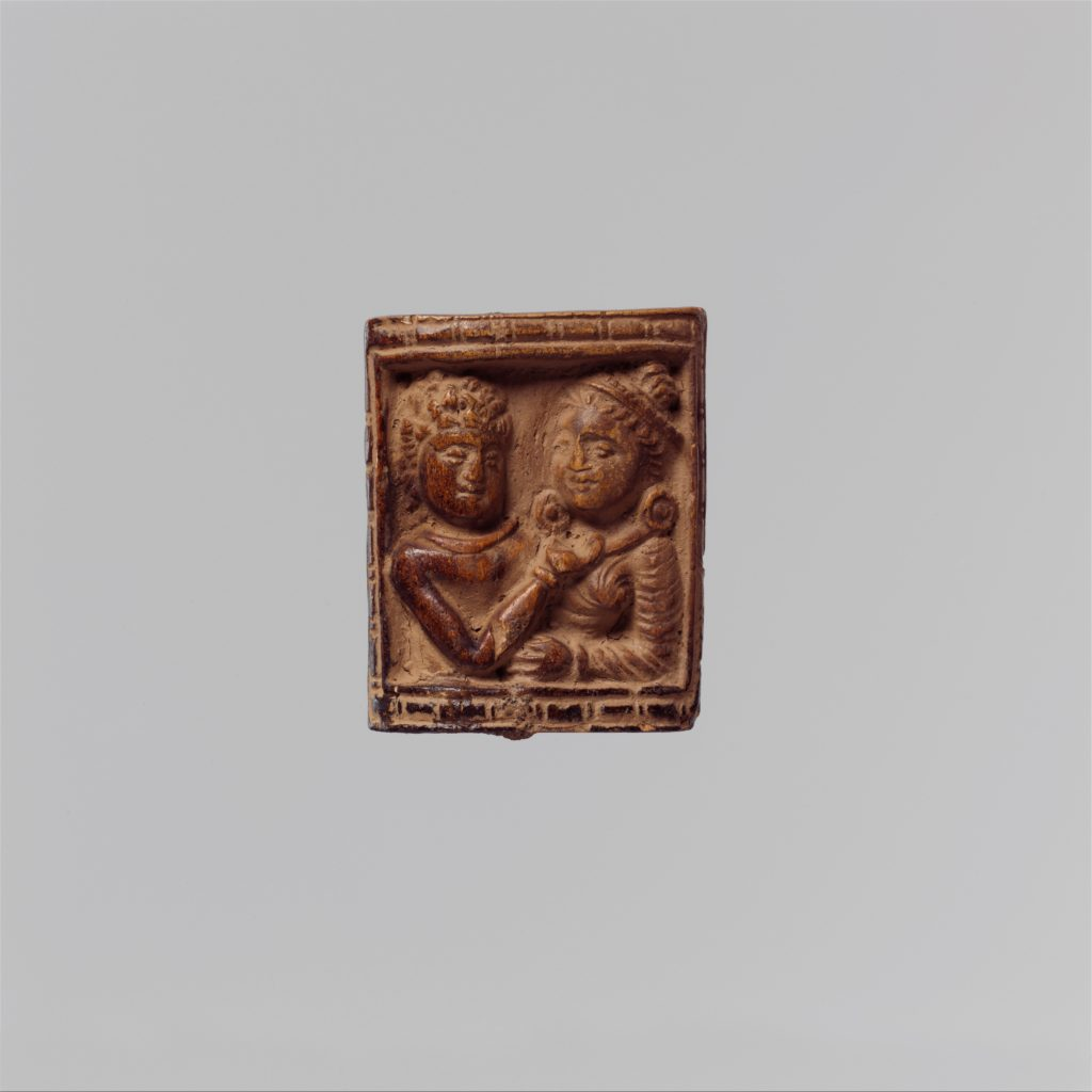 Plaque with Loving Couple (Mithuna)