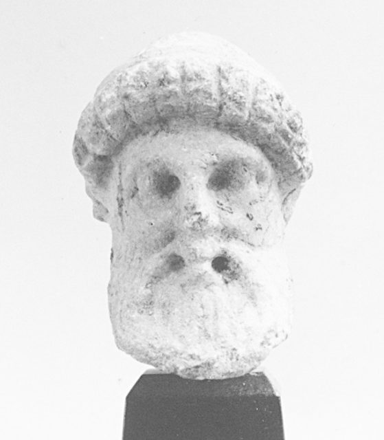 Small marble herm of the Hermes by Alkamenes