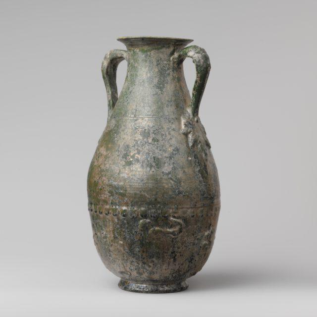 Terracotta amphora (jar)