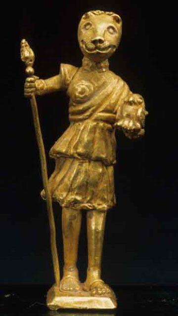 Anubis as Defender of Osiris / Dionysus