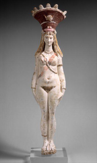Figure of Isis-Aphrodite