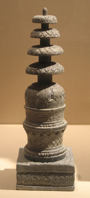 Reliquary in the Form of a Miniature Stupa