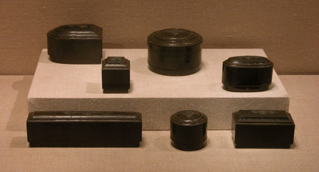 Set of Seven Boxes