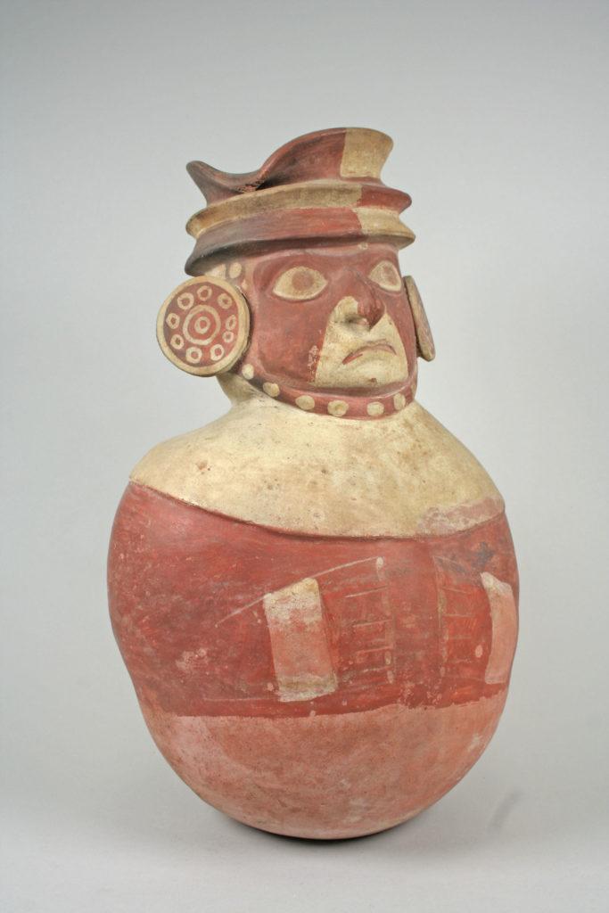 Warrior Head Jar