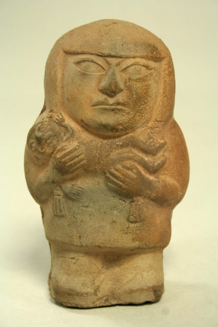 Figure of Mother Holding Child