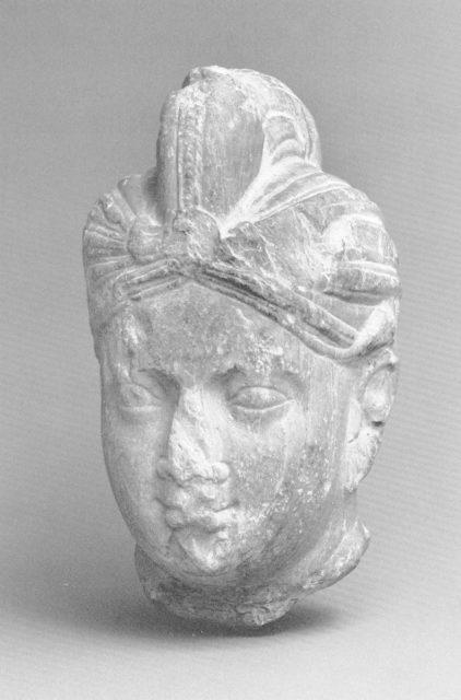 Head of a Bodhisattva (?)