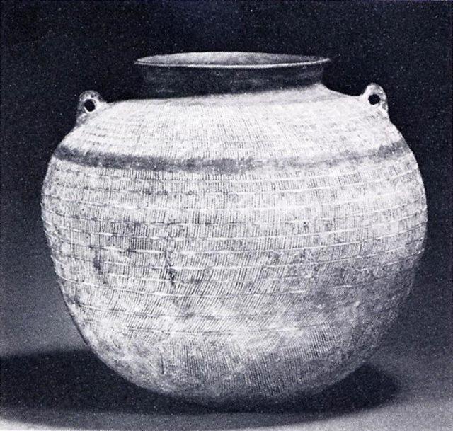 Jar with Small Loop Handles