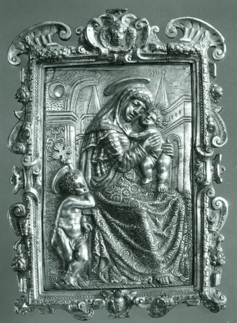 Pax with the Virgin and Child and Young St. John