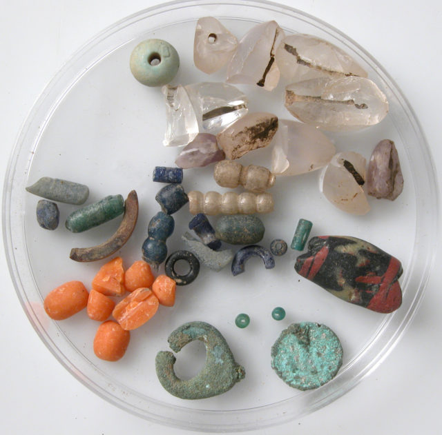 Coin and Bead Fragments
