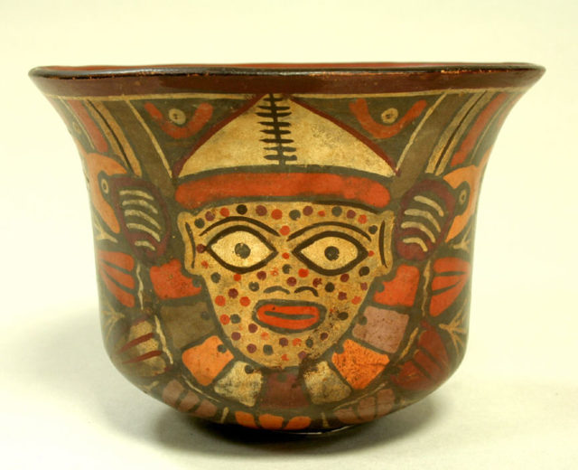 Cup with Spotted Face Deity