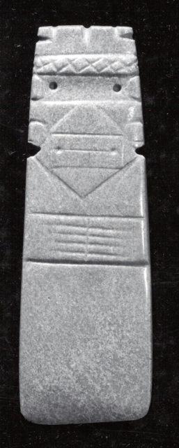 Figure-celt Pendant