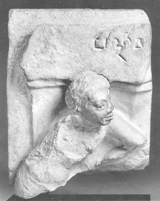 Fragment of a Plaque with a Figure