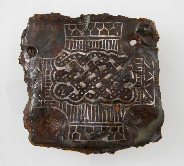 Backplate of a Belt Buckle