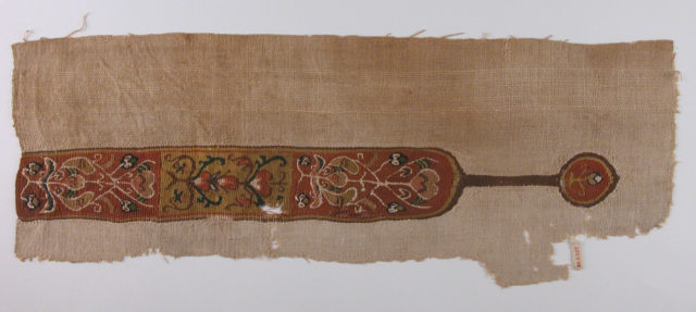 Band with Vegetal Motif