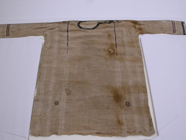 Child's Tunic with Tapestry-Weave Ornament and Applied Bands