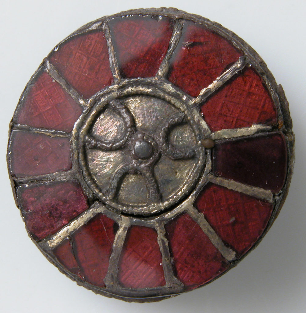 Disk Brooch