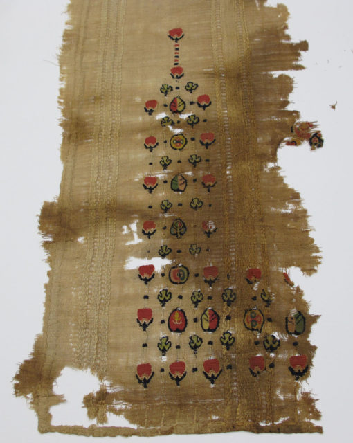 Fragment with Scattered Pattern
