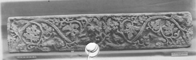 Frieze with Vine Scrolls and Birds