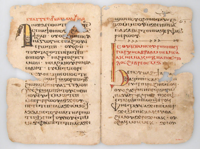 Leaves from a Coptic Manuscript