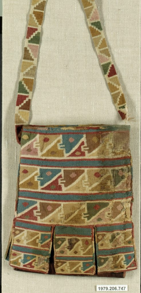 Tapestry Bag with Pockets