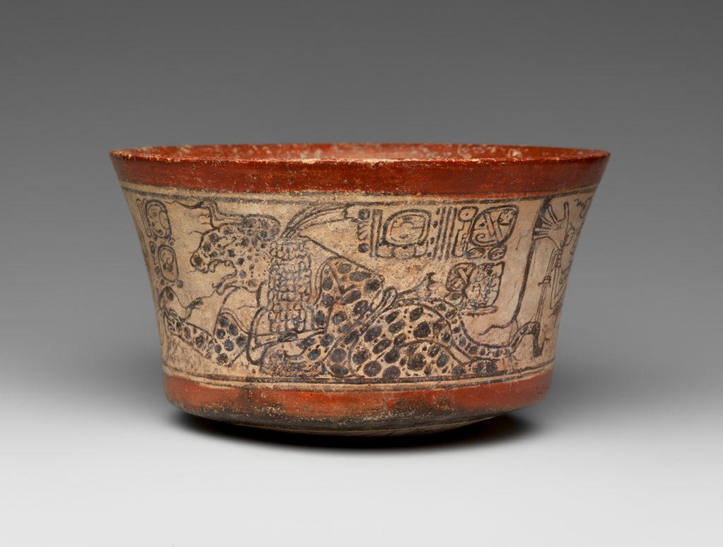 Bowl, Mythological Scene