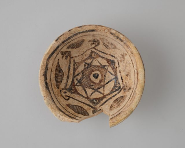 Bowl with Eight-Pointed Star