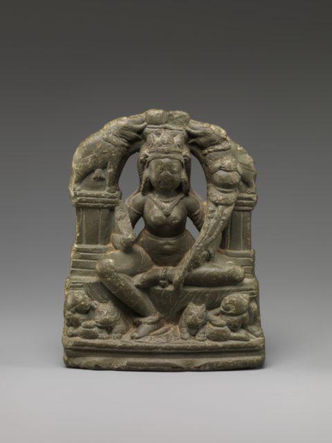 Gaja Lakshmi, Goddess of Fortune