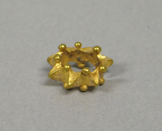 Pair of Ear Ornaments in Star Form