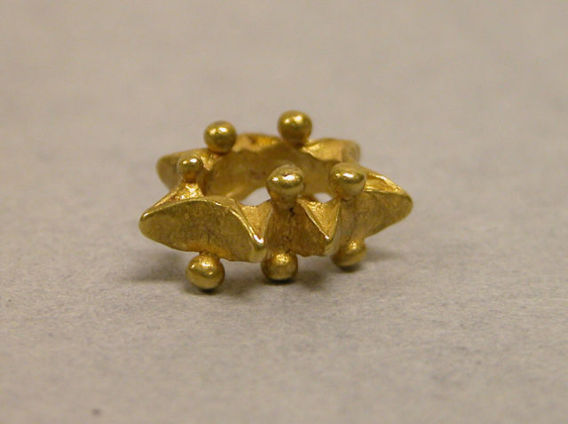 Pair of Earrings with Granulation