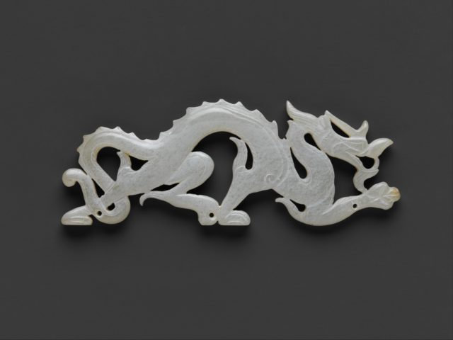 Plaque in the Shape of a Dragon