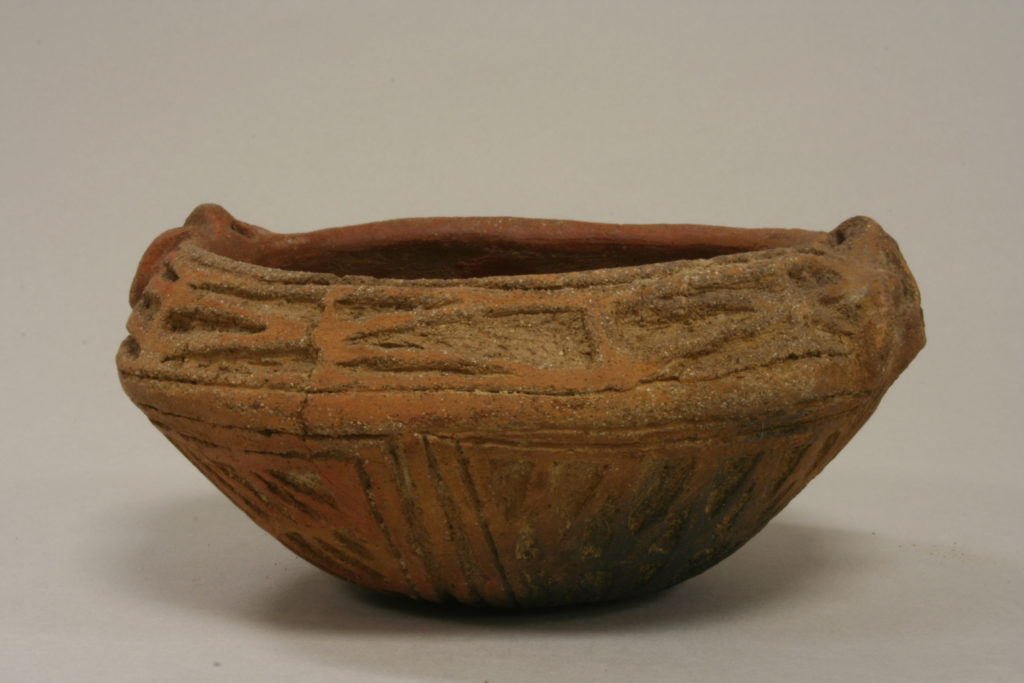 Bowl with Stippled Designs
