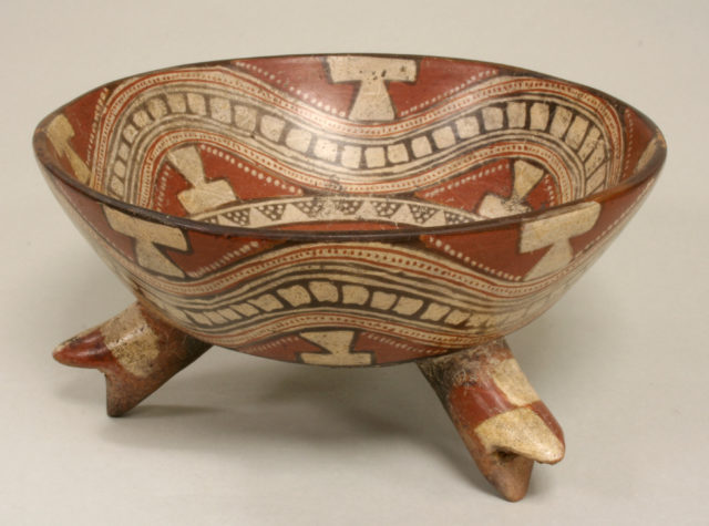 Ceramic Tripod Vessel