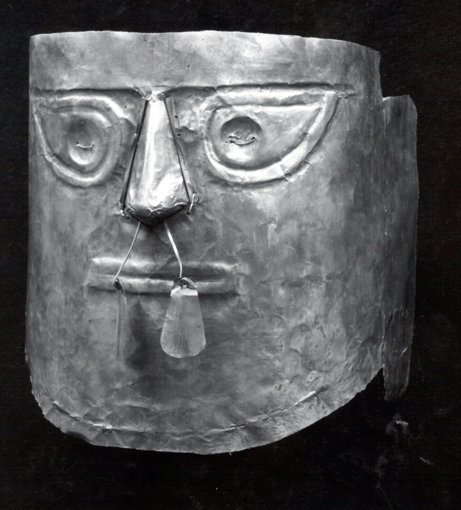 Gold Funerary Mask