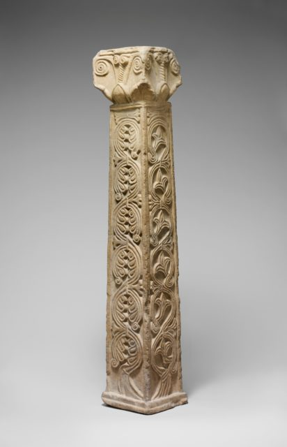 Pillar with Capital