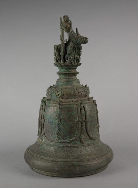 Bell with Bull with Chain
