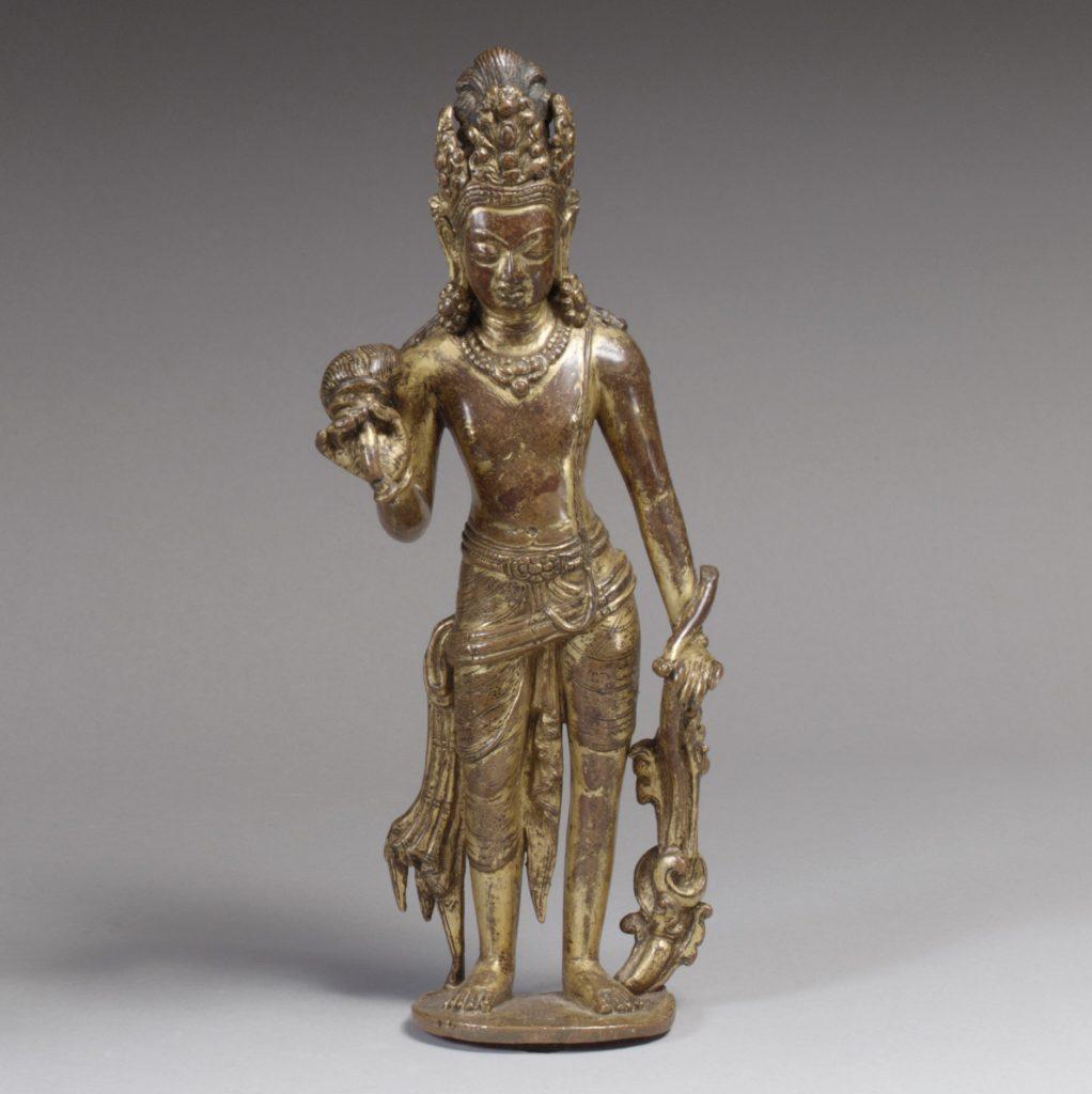 Bodhisattva, probably Padmapani Lokeshvara