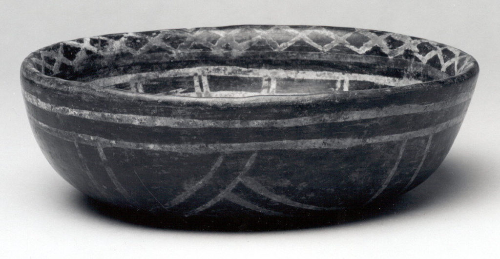 Bowl with Geometric Design