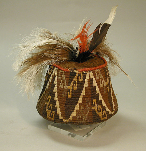 Cap with Feathers