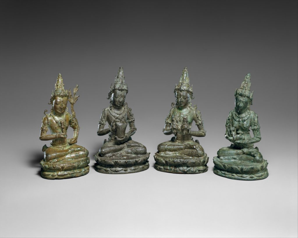 Four deities from a Vajradhatu (Diamond World) Mandala