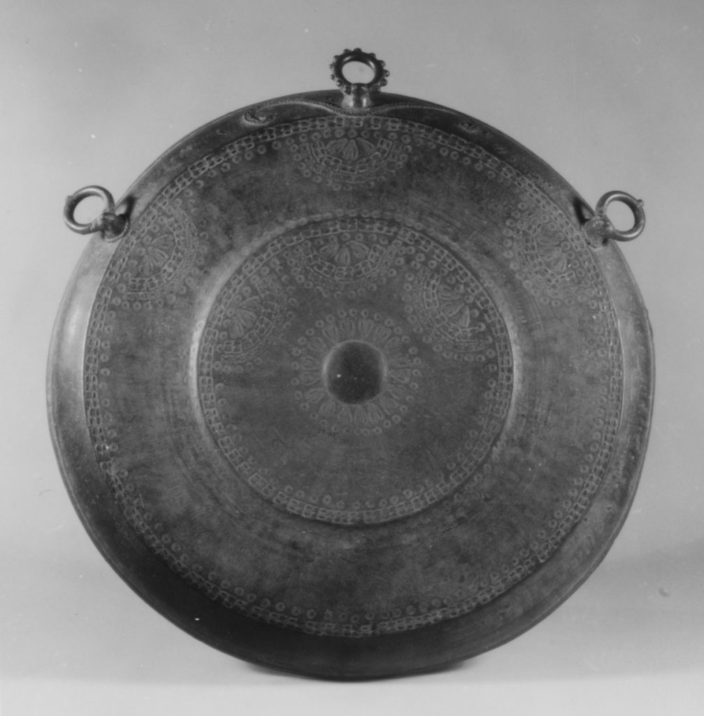 Gong with Three Ring Supports