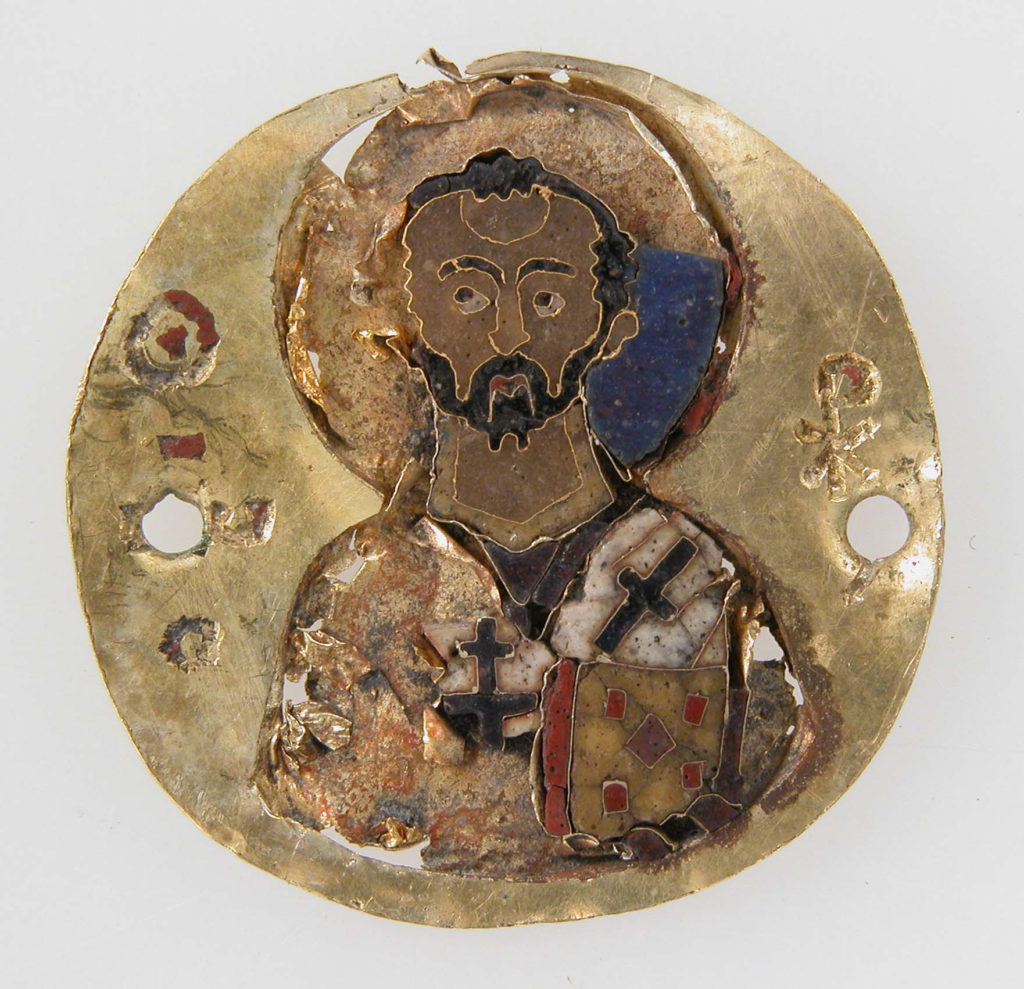 Medallion of St. John Chrysostom