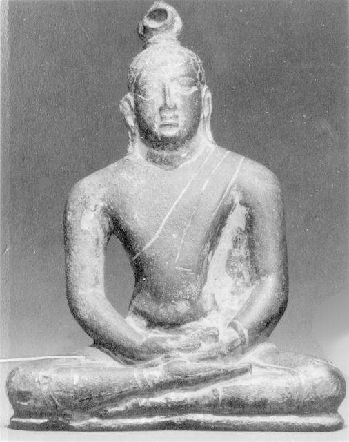 Seated Buddha in Cross-Legged Position
