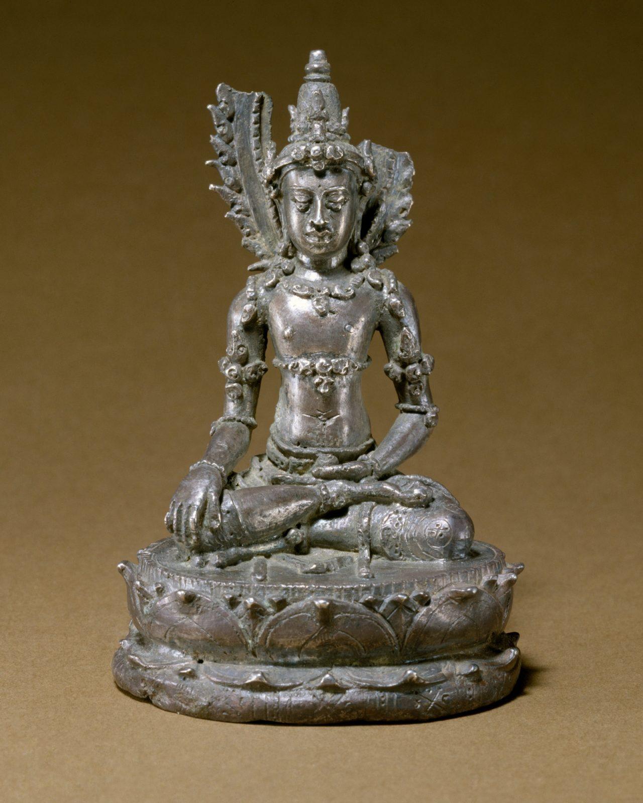 Seated Transcendent Buddha Akshobhya (?) - PICRYL Public